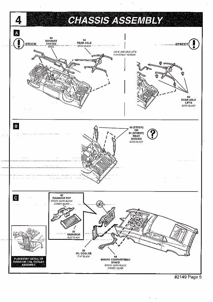 revell boss 429 instructions 5