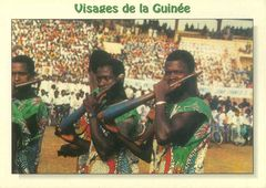 Guinean Rep - Traditional Musicians NIN