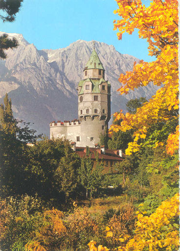 Austria - BURG SOLBAD HALL