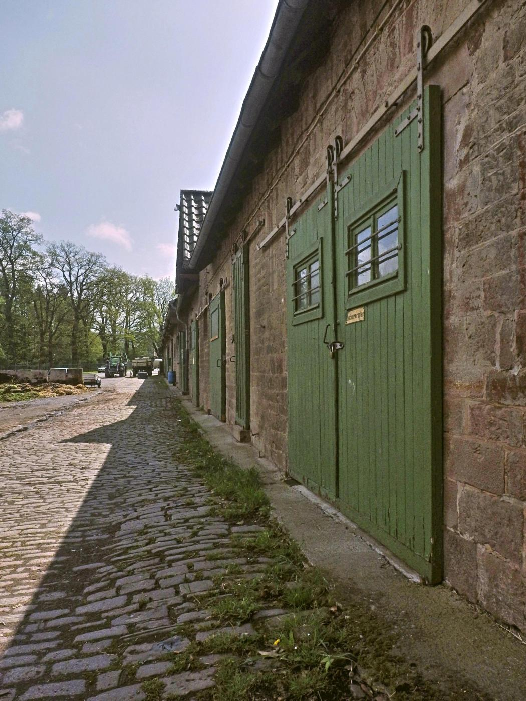 Ehemaliger Kuhstall Gut Allersheim
