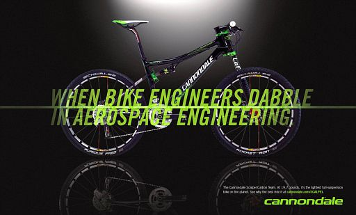 When bike engineers dabble in aerospace engineering.