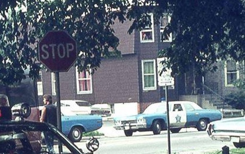 Chicago Police 1971 Chevy Biscayne