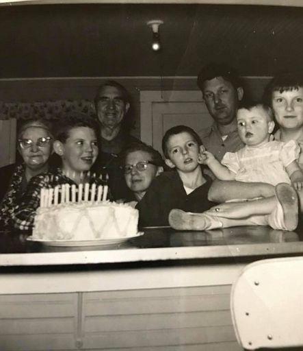 Quintons 12th Birthday 1960