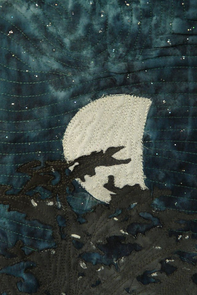 By the Light of the Silvery Moon, detail 1