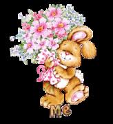 Me - BunnyWithFlowers