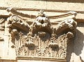 Détail façade Chapelle Funéraire