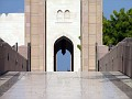 Women's Entrance - Sultan Qaboos Grand Mosque