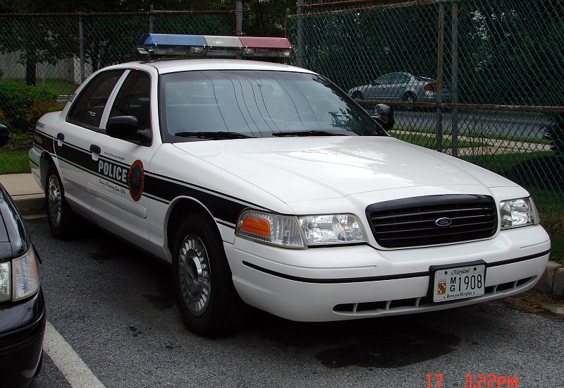 Greenbelt Maryland Police Bladensburg Maryland Police