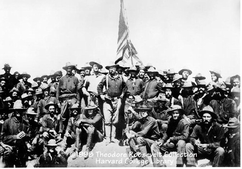 the story of the us calvary during the spanish american war in the movie rough riders Chapter 20 packet - yellow journalism one rough riders volunteer regiment of us cavalry led by teddy roosevelt during the spanish american war.