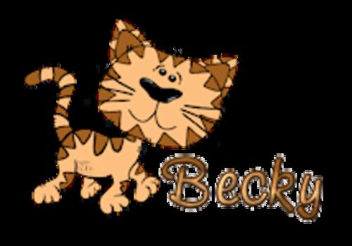 Becky - CuteCatWalking