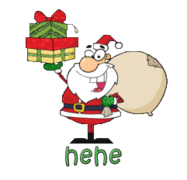 hehe - SantaDeliveringGifts