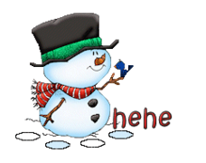 hehe - Snowman&Bird