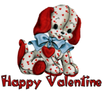 Happy Valentine - Love Dog
