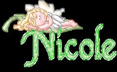 Nicole - Alpha Green Angel By Mitsu dena