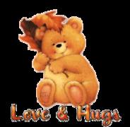 Love & Hugs - Autumn Bear