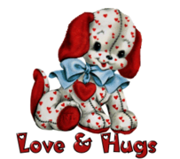 Love & Hugs - Love Dog