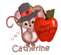 Catherine - ThanksgivingMouse