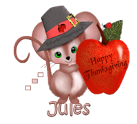 Jules - ThanksgivingMouse