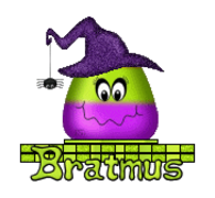 Bratmus - CandyCornWitch