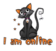 I am online - HalloweenKittySitting