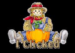 I Clicked - AutumnScarecrowSitting