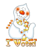 I Voted - CandyCornGhost