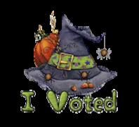 I Voted - CuteWitchesHat