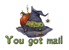 You got mail - CuteWitchesHat
