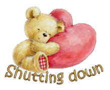 Shutting down - ValentineBear2016