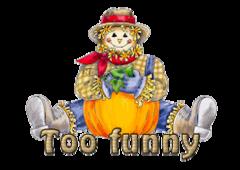 Too funny - AutumnScarecrowSitting