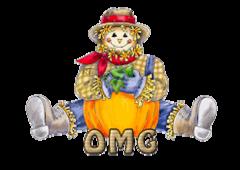 OMG - AutumnScarecrowSitting