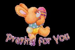 Praying for You - EasterBunnyWithEgg16