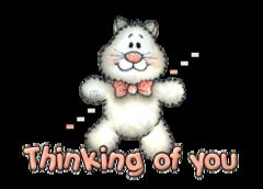 Thinking of you - HuggingKitten NL16