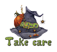 Take care - CuteWitchesHat