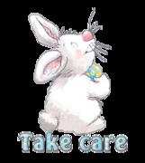 Take care - HippityHoppityBunny