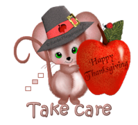 Take care - ThanksgivingMouse
