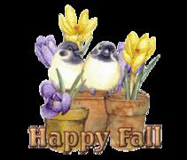 Happy Fall - BirdsAndSpringFlowers