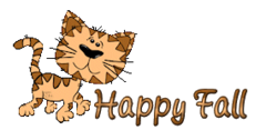 Happy Fall - CuteCatWalking