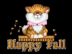 Happy Fall - CuteKittenSitting