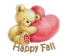 Happy Fall - ValentineBear2016