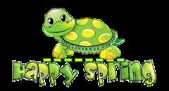 Happy Spring - CuteTurtle