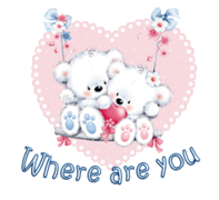 Where are you - ValentineBearsCouple2016