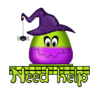 Need help - CandyCornWitch