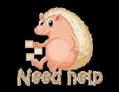 Need help - CutePorcupine