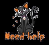 Need help - HalloweenKittySitting
