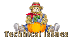 Technical issues - AutumnScarecrowSitting