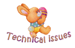 Technical issues - EasterBunnyWithEgg16