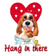 Hang in there - ValentinePup2016