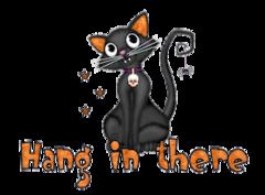 Hang in there - HalloweenKittySitting