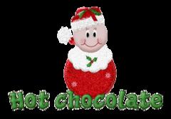 Hot chocolate - GlitterOrnament